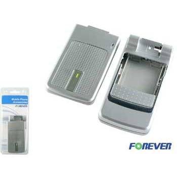 Výměnný kryt pro Nokia 6260 - neoriginální - stříbrný TFO