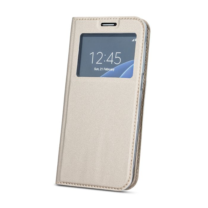 Pouzdro Sligo Smart pro Xiaomi MI 5s Look zlaté Sligo Case