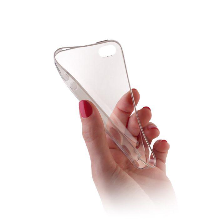 Pouzdro na Xiaomi Redmi 3 - Jelly - Slim 0.3mm průhledné GreenGo