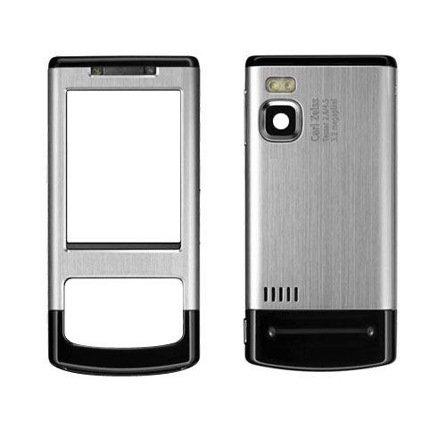 Výměnný kryt pro Nokia 6500 slide P/Z- neoriginální - stříbrný TFO