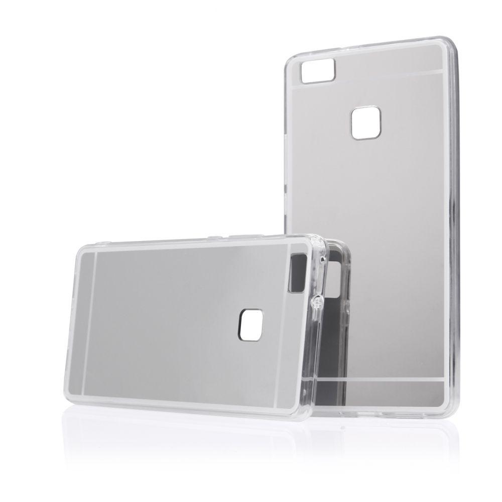 """Pouzdro na iPhone 7 / 8 - """"MIRROR"""" (zadní kryt) - stříbrné Jelly Case"""