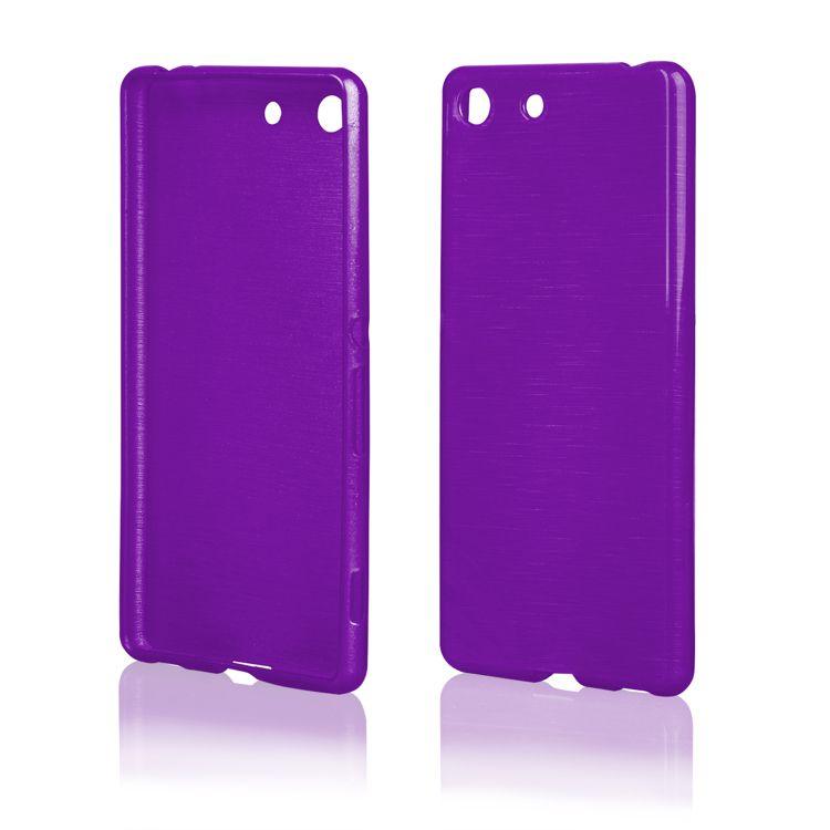 Pouzdro EGO Mobile na Sony Xperia Z5 Mini - Metallic fialové
