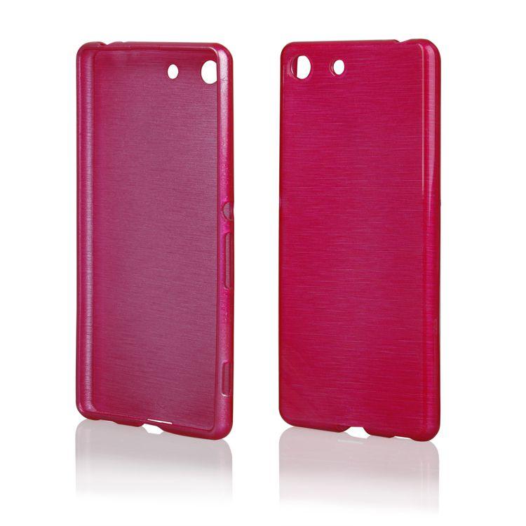 Pouzdro EGO Mobile na Sony Xperia M5 Metallic růžové