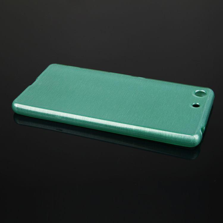 Pouzdro EGO Mobile na Sony Xperia M5 Metallic zelené