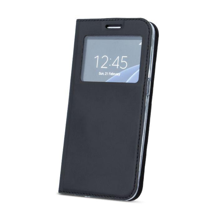 Pouzdro Sligo Smart pro Xiaomi Mi 5s Look černé Sligo Case