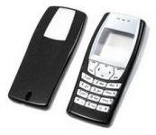 Výměnný kryt pro Nokia 6610 - neoriginální - černý