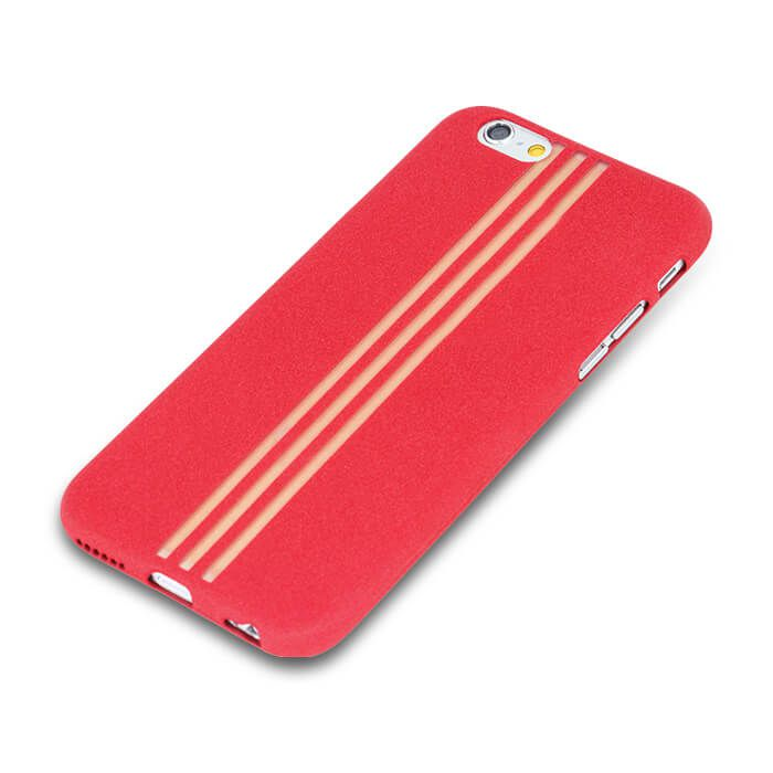 Pouzdro na Huawei Y3 II - Rubber Line - červené Jelly Case