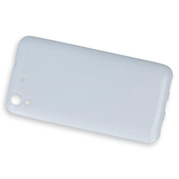 0e5be198c3da Pouzdro na Huawei Y6 II - Jelly Case - bílé GreenGo