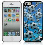 """Pouzdro na iPhone 5G -""""3D"""" (zadní kryt) - Footbal"""