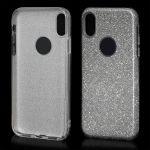 Pouzdro na iPhone X - zadní kryt - BLINK - stříbrné