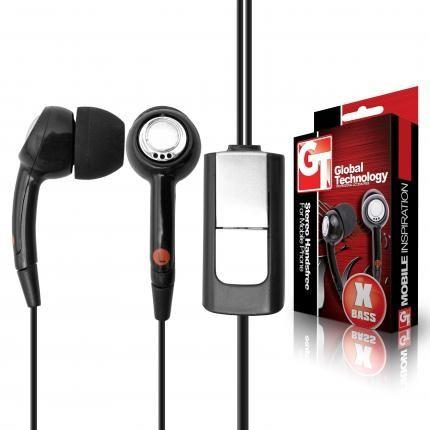 HF sluchátka pro LG GT500/BL20/GD510 Stereo HQ Global technology