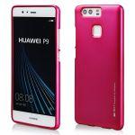 Pouzdro na Huawei Y7- MERCURY i-JELLY - tmavě růžové