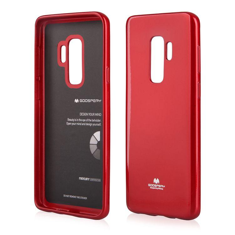 Pouzdro Goospery Mercury Jelly na Samsung G965 S9 Plus červené