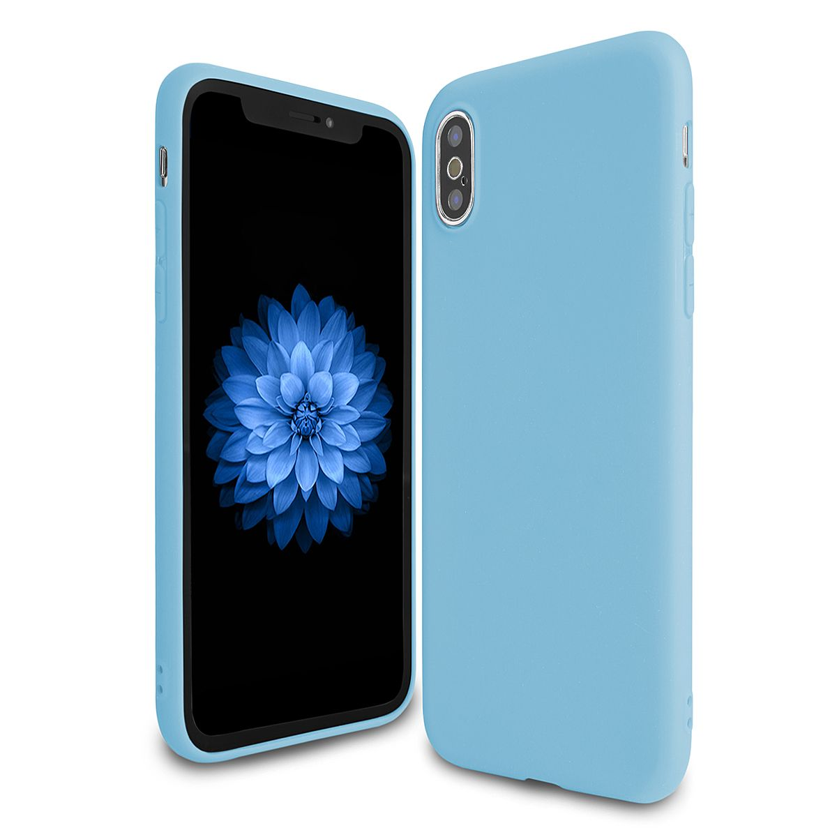 Jelly Case na Huawei P20 Lite Pudding modré