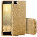 Pouzdro na Huawei P8 Lite - zadní kryt - BLINK - zlaté