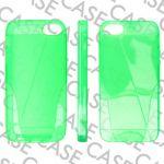 Pouzdro na iPhone 5/5s/SE - Jelly Stain - zelené