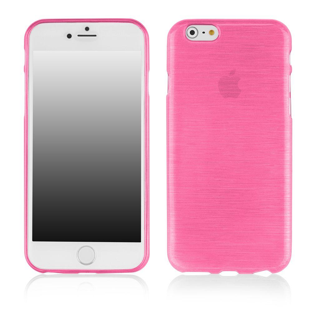 Pouzdro EGO Mobile na iPhone 6 Plus 5.5 Metallic růžové