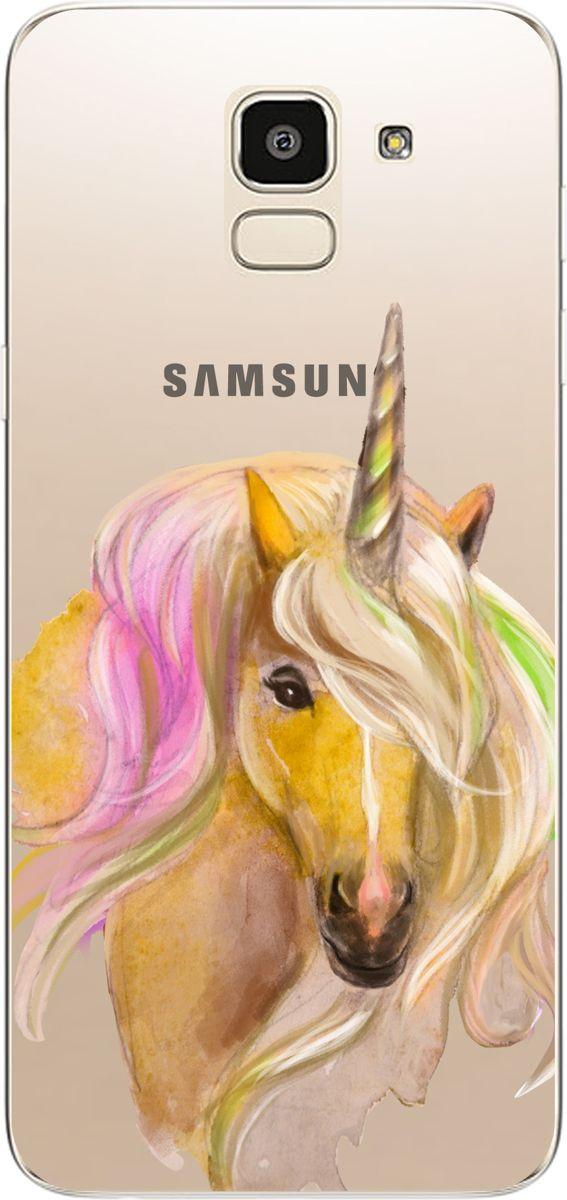 Pouzdro MFashion pro Samsung J6 J600 2018 FMA031 čiré