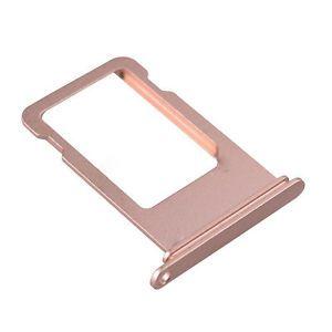 Držák, šuplík SIM karty pro iPhone 7 - růžový OEM