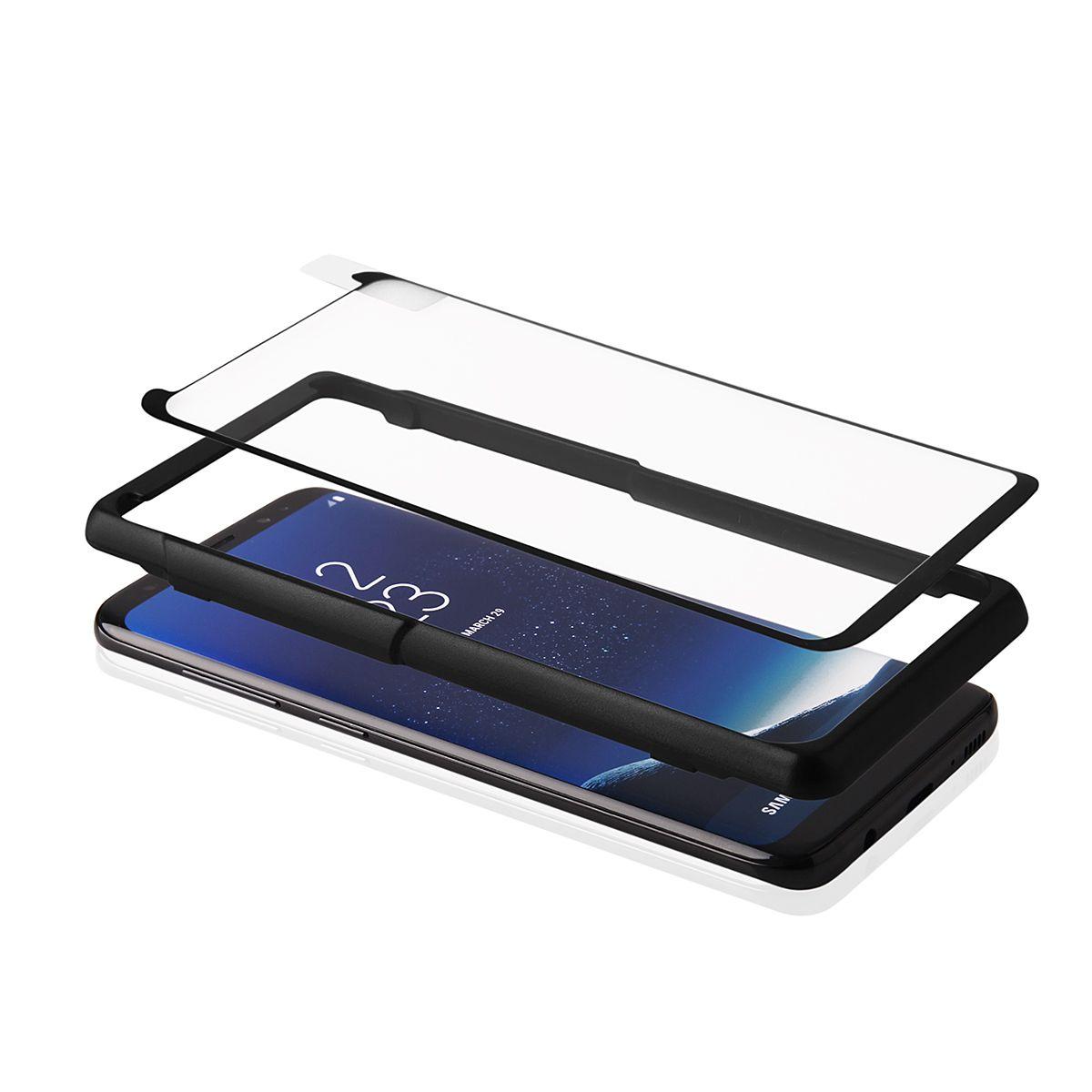 Rámek pro montáž tvrzeného skla 4D pro Samsung S8+ Global Technology
