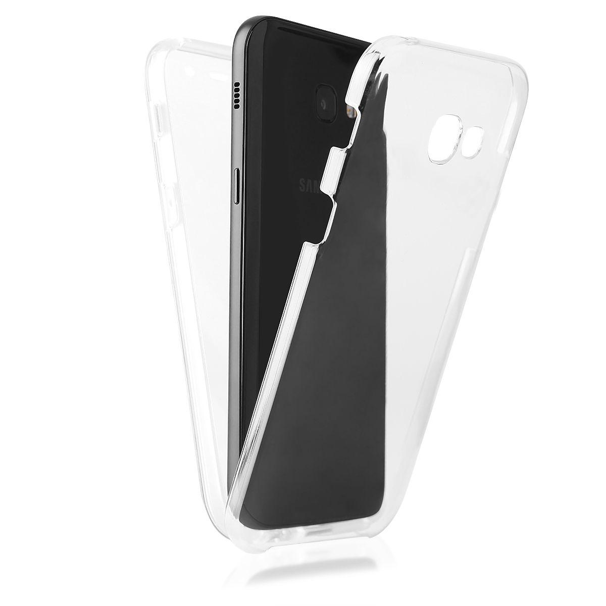 Pouzdro na Samsung A5 A520 2017 - Case 360° - průhledné Global Technology