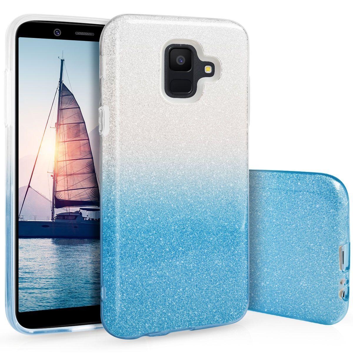 Pouzdro Blink Case pro Samsung J4+ 2018 Ombre modré