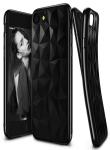 Pouzdro Jelly Case pro Samsung A8 2018 - Brick Stone - černé