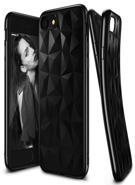 Pouzdro Jelly Case pro Huawei P Smart 2019 - Brick Stone - černé