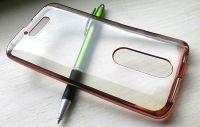 Electro Case na Moto X Force - růžové Jelly Case