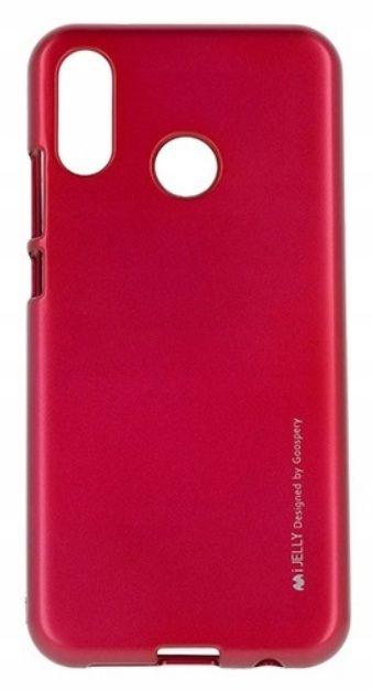 Pouzdro Mercury iJelly na Huawei P20 Lite červené
