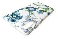 Pouzdro Funny Case pro Huawei P30 modré květy