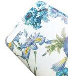 Pouzdro Funny Case pro Huawei Y6 2018 modré květy