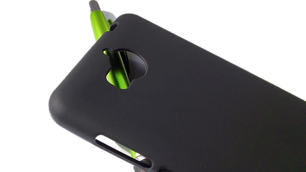 Pouzdro Jelly Case na Huawei Y5 / Y6 2017 - Matt - černé