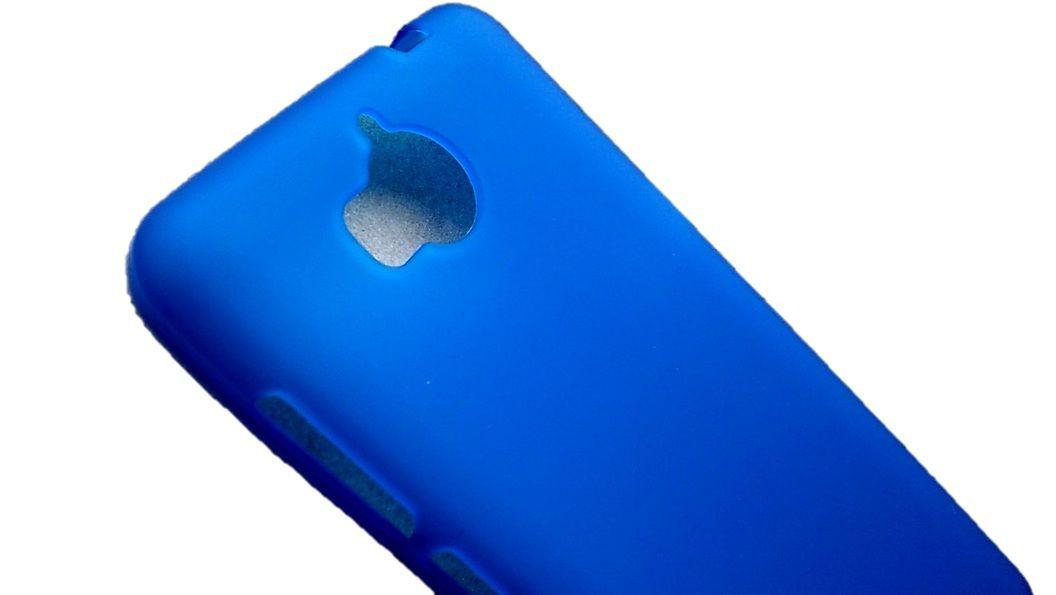 Pouzdro Jelly Case na Huawei Y5 / Y6 2017 - Matt - modré