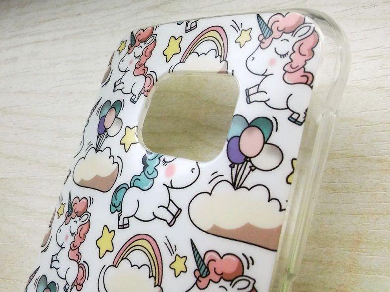 Pouzdro Jelly Case pro Samsung G920 S6 Pony čiré
