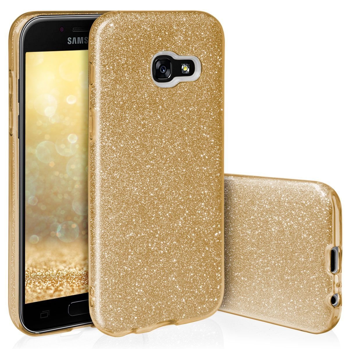 Pouzdro Blink Case pro Samsung A6 2018 zlaté