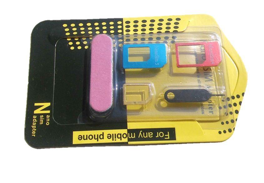 Adaptér Nano - SIM karty 5in1 OEM