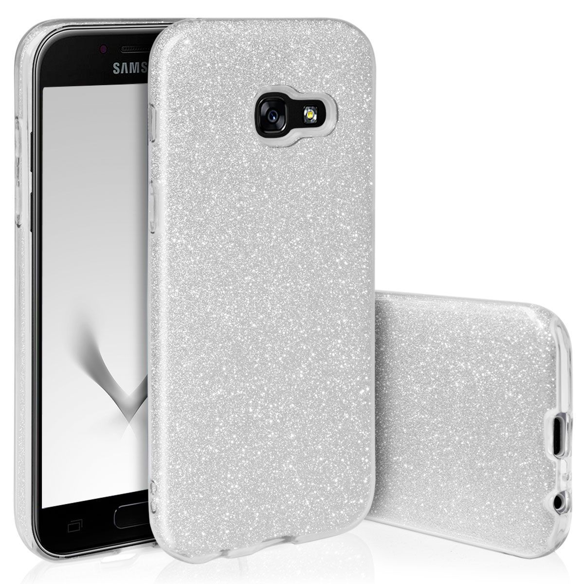 Pouzdro Blink Case pro Samsung A6 2018 stříbrné