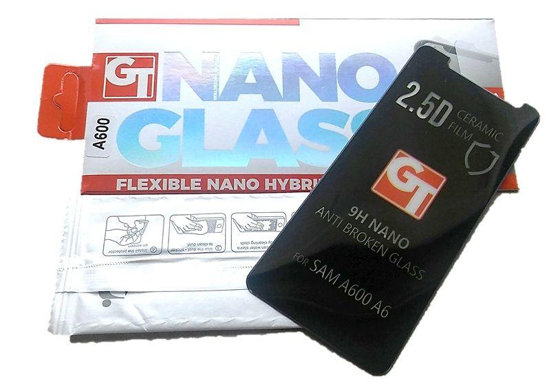 GT Nano sklo pro Samsung A6 A600 2018 - čiré Global Technology