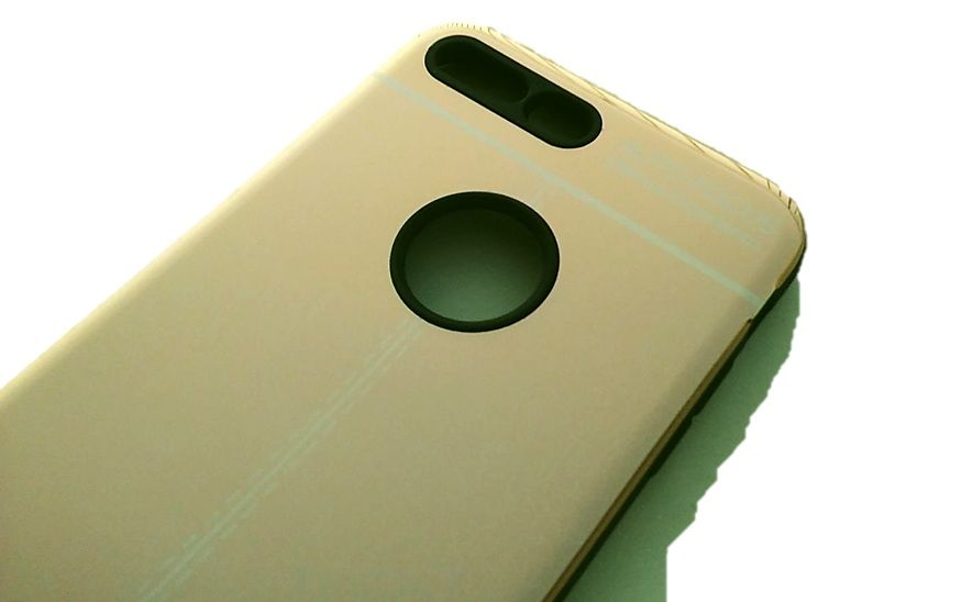 """Pouzdro Autofocus na iPhone 7 / 8 Plus 5.5"""" - zlaté zrcadlo"""