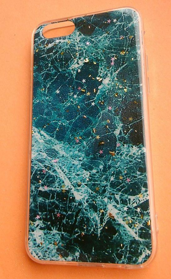 Pouzdro Blink Case Mramor pro iPhone 6 / 6S - zelené