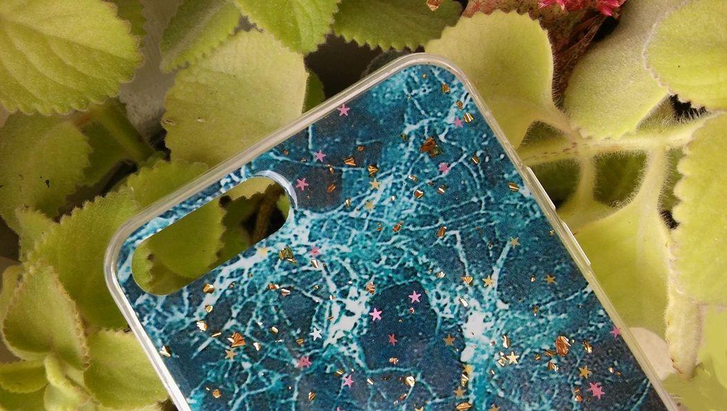 Pouzdro Blink Case Mramor pro iPhone 7 / 8 Plus - zelené