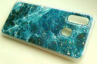 Pouzdro Blink Case Mramor pro Samsung A40 - zelené
