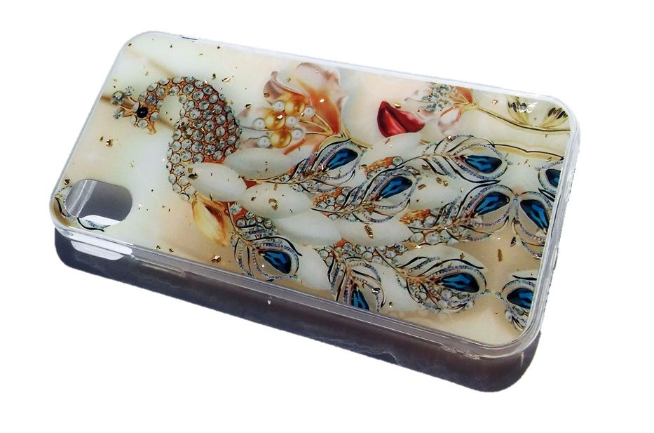 Pouzdro Blink Case Paw pro iPhone XR - zlaté