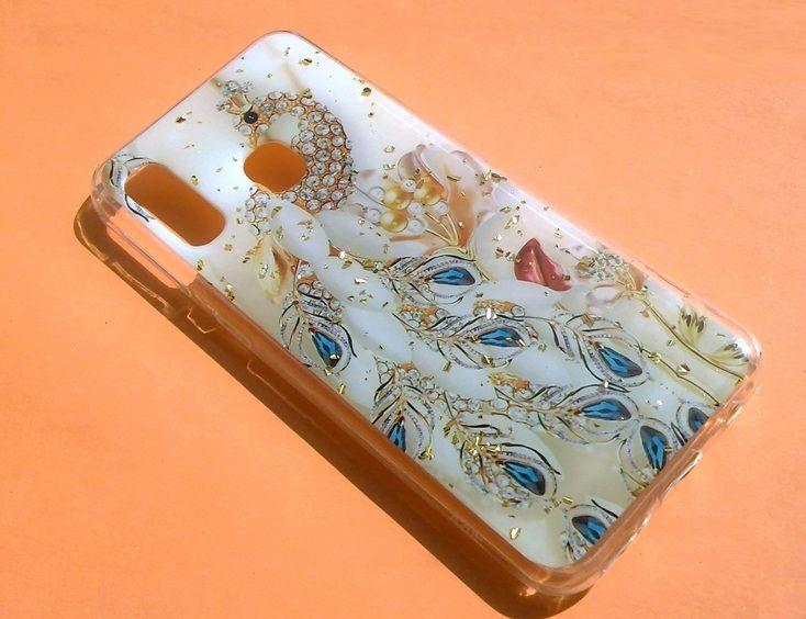 Pouzdro Blink Case Paw pro Samsung A20e - zlaté