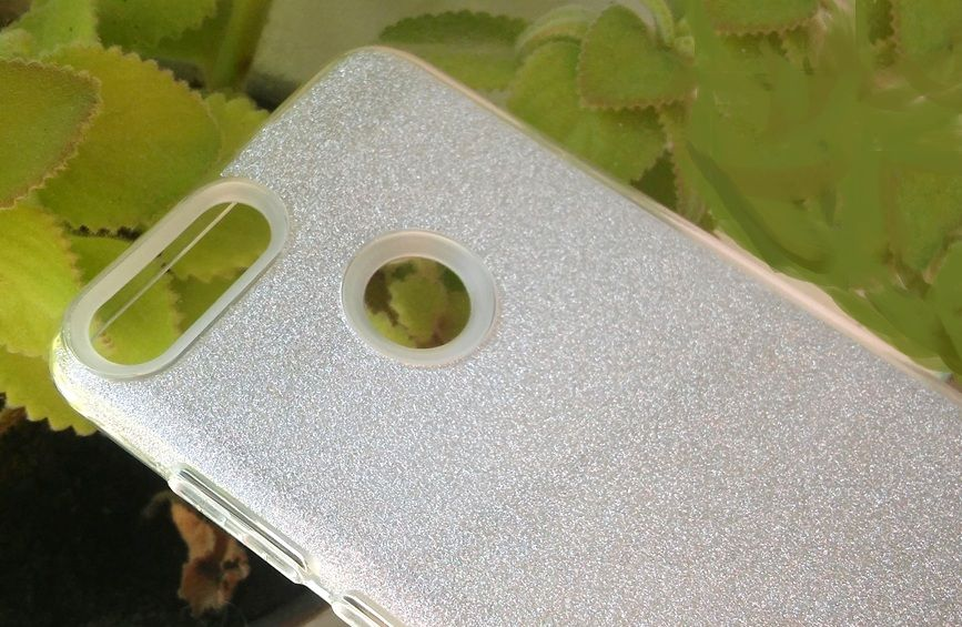Pouzdro Blink Case pro Huawei P Smart - stříbrné