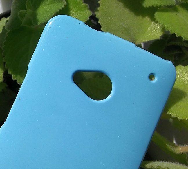 Pouzdro Goospery Mercury Jelly na HTC One M7 - modré