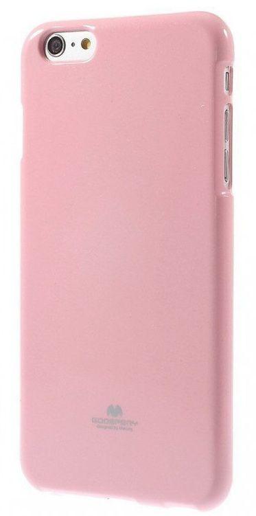 """Pouzdro Goospery Mercury Jelly na iPhone 6 4.7"""" - světle růžové"""