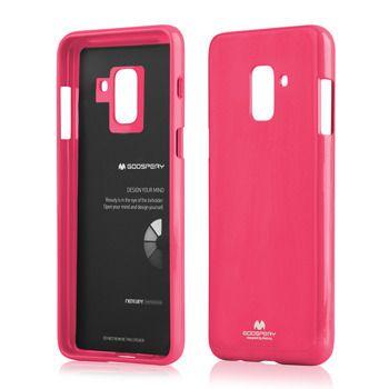 Pouzdro Goospery Mercury Jelly na Samsung J6 J610 Plus - růžové