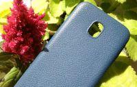 Pouzdro Jelly Case kůže na Samsung J330 - modré